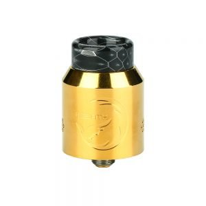 Hellvape Rebirth RDA  (Piano, Full Black)